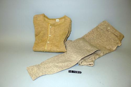 Camiseta y calzoncillo