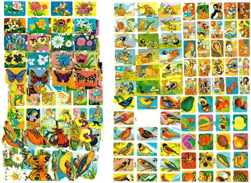 Materiales para la edición de Láminas de Cromos Troquelados