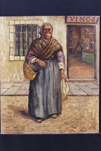 Retrato de Chata la Borracha