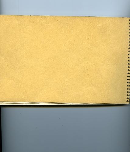 Cuaderno de notas y bocetos
