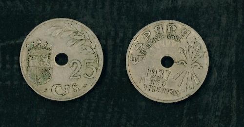 Moneda de 25 céntimos