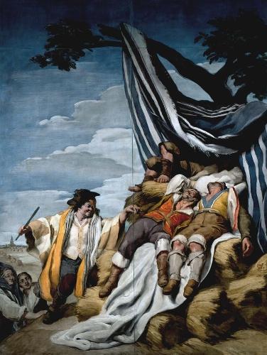 La siesta de los segadores