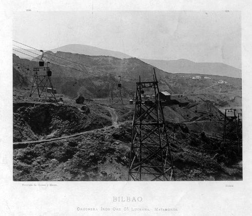 """Bilbao. Orconera Iron Ore Cº Luchana. Matamoros"""