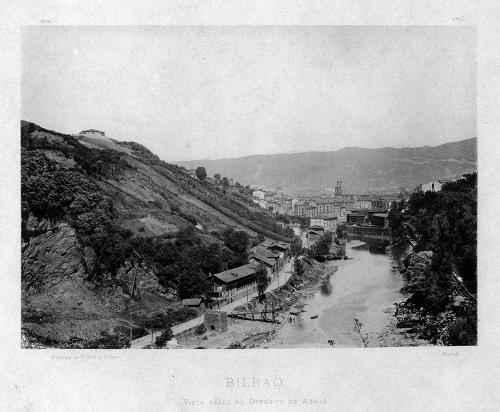 """""""Bilbao. Vista desde el Depósito de Aguas"""""""