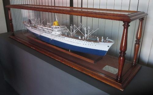 Modelo buque 'Monte Umbe'