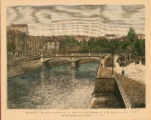 Bilbao, nuevo puente de la Merced