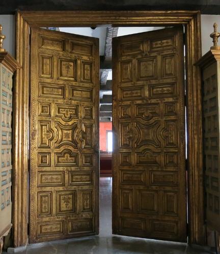 Puertas del Archivo del Consulado de Bilbao