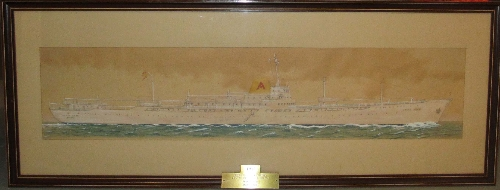 "Retrato buque ""Monte Umbe"""