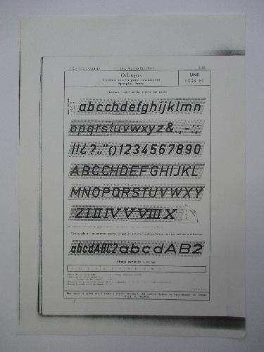 Rotulación : método y ejercicios de escritura normalizada aplicada al dibujo técnico. 1, Escritura cursiva UNE 1034