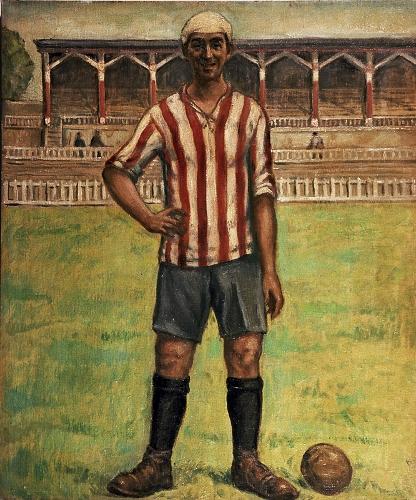 """Retrato de Rafael Moreno """"Pichichi"""""""