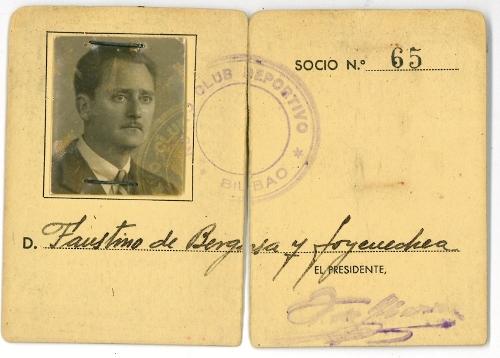 Carnet del Club Deportivo de Bilbao