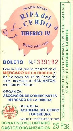 Tradicional Rifa del Cerdo