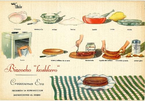 """Recetas de cocina """"Creaciones Eva"""""""