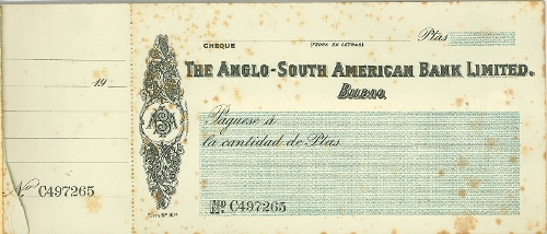 """""""The Anglo-South American Bank Limited"""""""