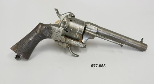 Revolver Lefaucheux para cartucho de espiga