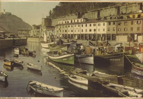 Puerto pesquero San Sebastián