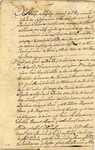 Expediente sobre declaración de hidalguías en la Provincia de Guipuzcoa