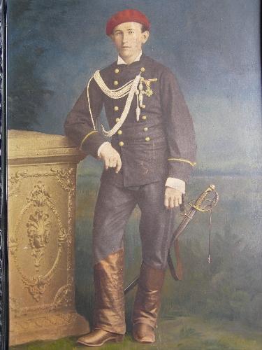 Isidro Olejua sarjento karlistaren erretratua
