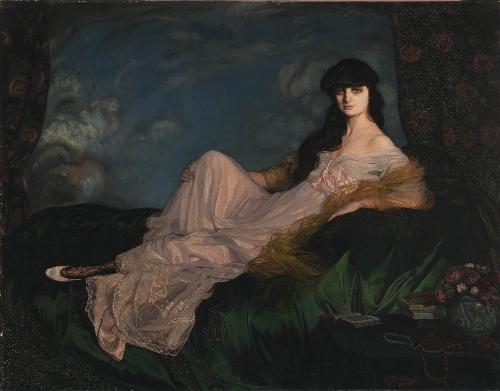 Retrato de la condesa Mathieu de Noailles