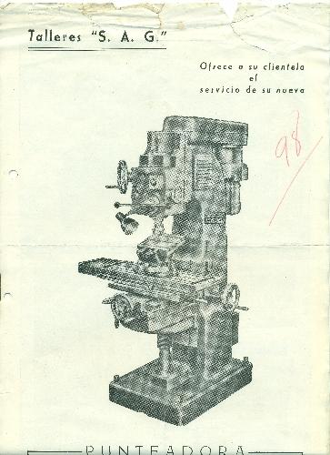 """Talleres """"S.A.G."""" Ermua (Bizkaia)"""