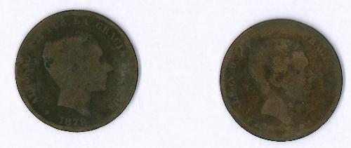 Monedas de 10 céntimos (2)