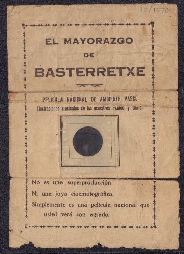 """El Mayorazgo de Basterretxe"""