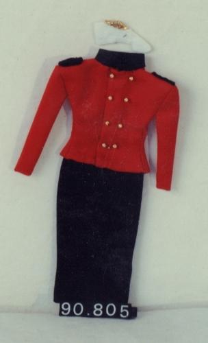 Modelo del traje de Chupinera de Aste Nagusia