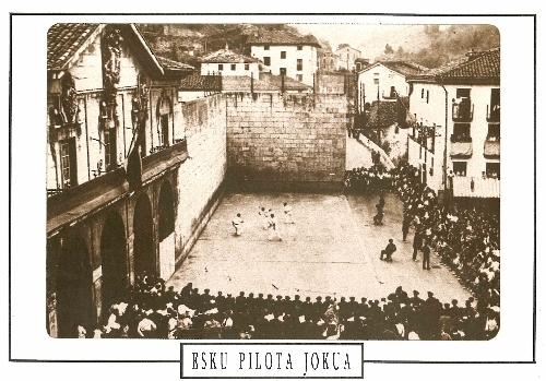 "Postales ""Deportes Vascos"" (16)"