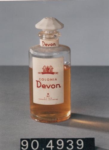 """Frasco de colonia """"Devon"""""""