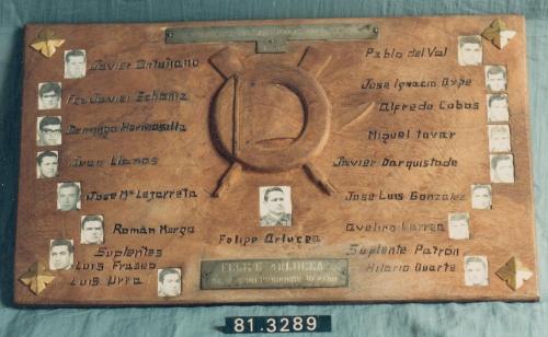 Tripulación del Club de Remo San Nicolás de Portugalete