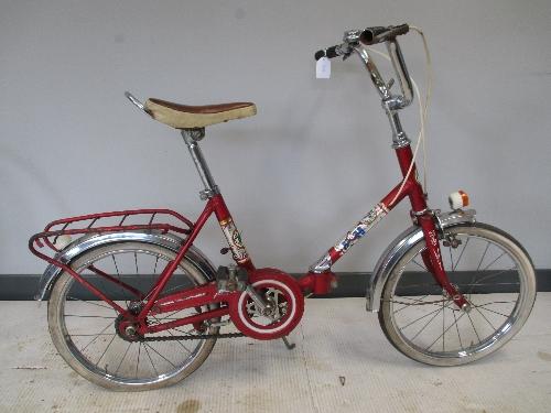 Bicicleta infantil B.H. plegable
