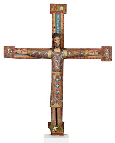 Majestad de Cristo en la cruz
