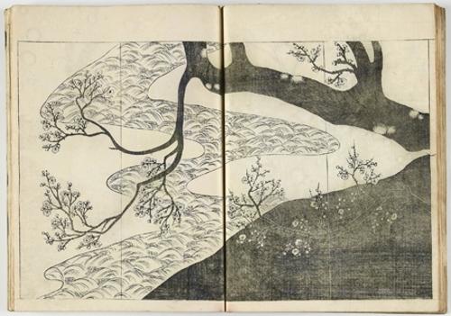 Korin shinsen hyakuzu (Nueva serie de cien obras de Korin)