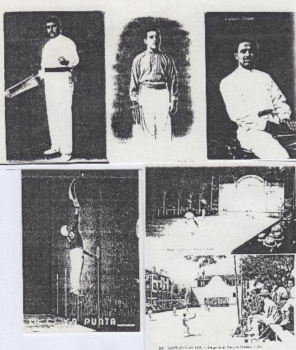 Postal (3) Foto (3) del juego de la pelota