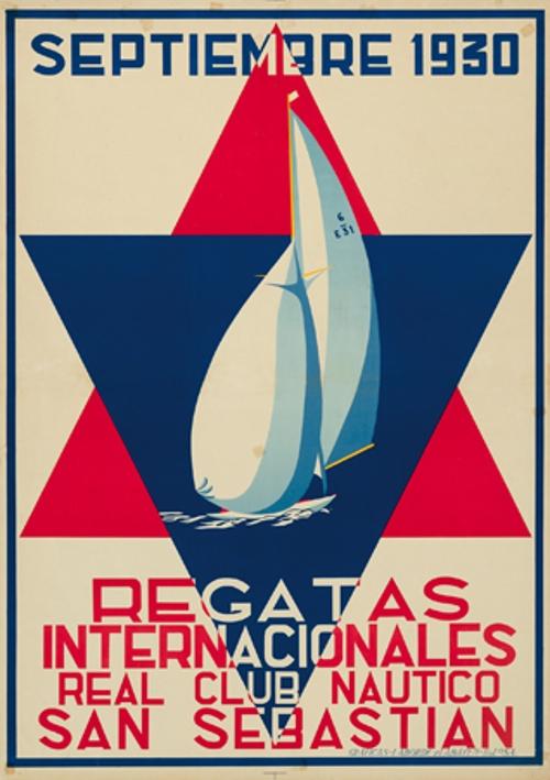Septiembre 1930 / Regatas / Internacionales / Real Club Náutico / San Sebastián