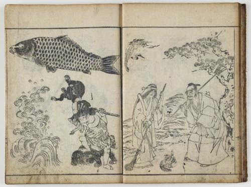 Shoshoku ekagami (Repertorio pictórico de temas diversos) o Shoshoku gakan