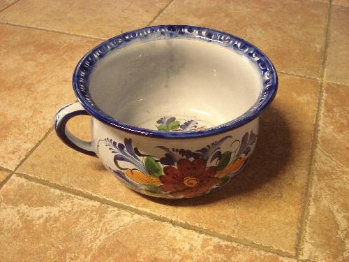 Orinal de cerámica