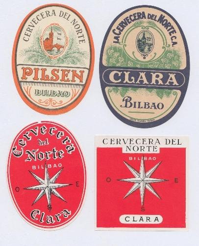 Etiquetas de La Cervecera del Norte