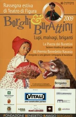 Borghi & Burattini 2009, Rassegna Estiva Delle Figure Animate
