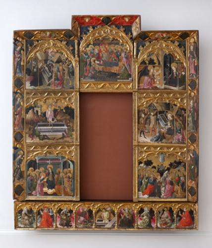 Retablo de los siete gozos de la Virgen María