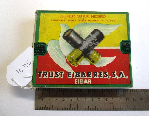 Caja de cartuchos Trust Eibarres Super Star Negro