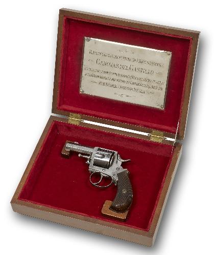 Revólver empleado para el asesinato de Cánovas del Castillo