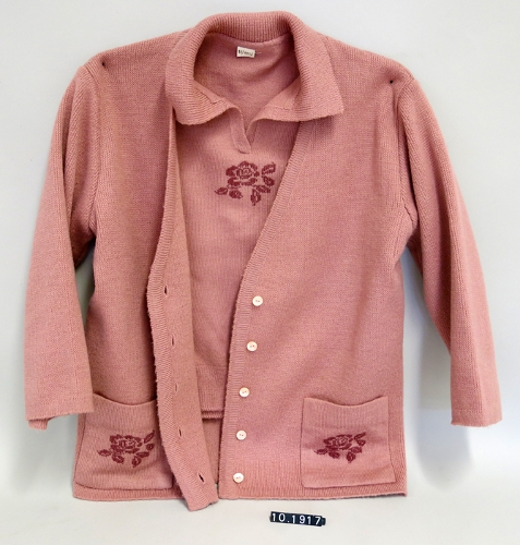 Conjunto de jersey y chaqueta