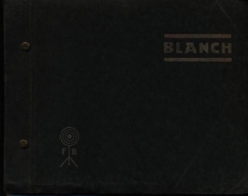 """BLANCH"". Catálogo general"