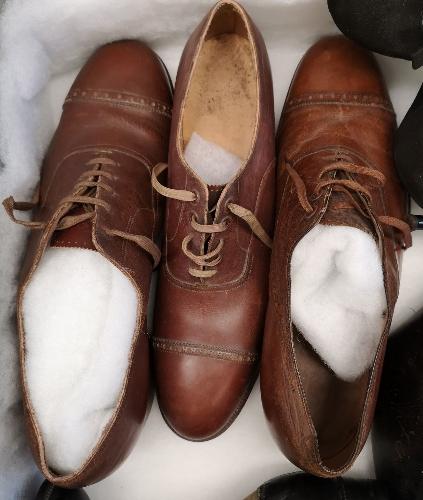 Modelo de calzado masculino