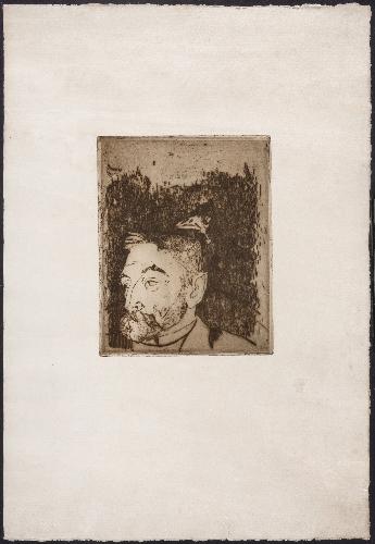 Retrato de Stéphane Mallarmé