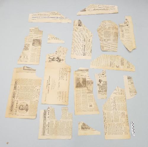 Patrón de Papel de periódico.
