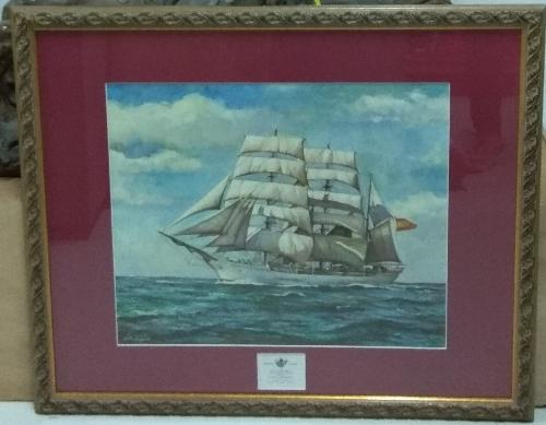 Buque escuela de marinería GALATEA