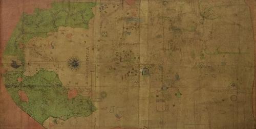 Reproducción de la Carta Universal de Juan de la Cosa