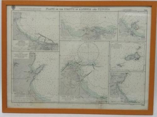 Plans of the Coast of Algeria and Tunisia